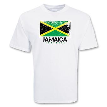 Jamaica fotball t-skjorte