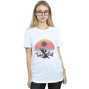 Disney Women's Tinker Bell Sunset Boyfriend Fit T-Shirt