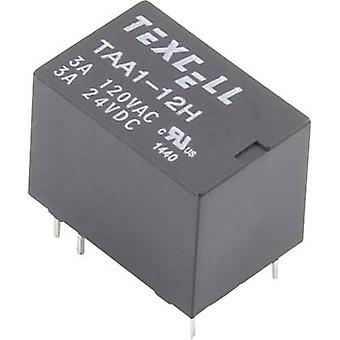 Texcell TAA1-12H PCB relays 12 Vdc 5 A 1 change-over 1 pc(s)