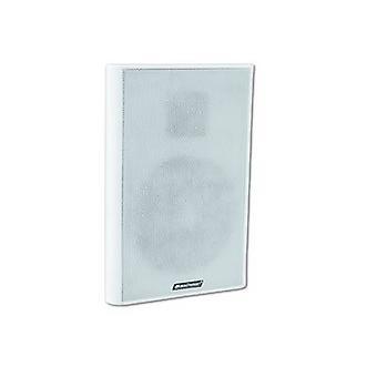 Wand-PA Lautsprecher Omnitronic FPS-5 10 W White 1 PC