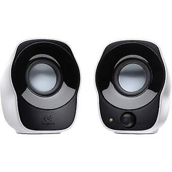 Logitech Z120 2.0 PC speaker Corded 1.2 W White, Black