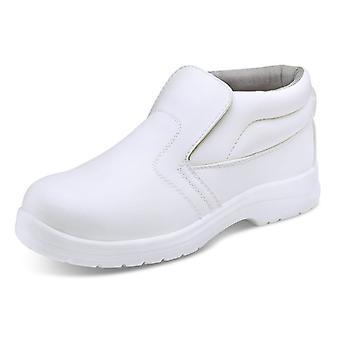 Click Micro Fibre Safety Boot S2 White - Cf852