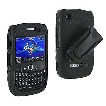 Body Glove - Snap-On Case for BlackBerry Curve 8530 - Black