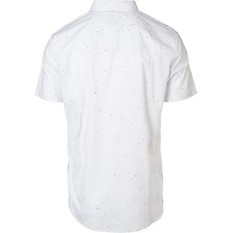 Rip Curl Optical White Adventure Time Short Sleeved Shirt