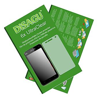 WIKO Rainbow 4 G screen protector - Disagu Ultraklar protector