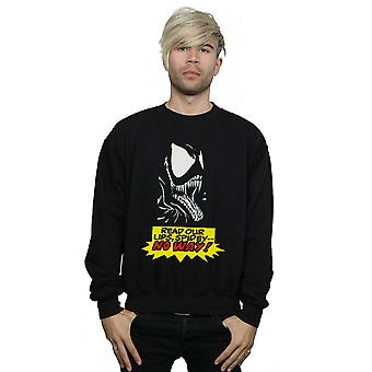 Marvel Men's Venom No Way Sweatshirt