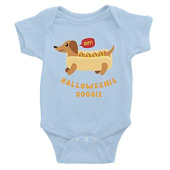 Halloweenie Doggie Baby Romper Gift hemelsblauw