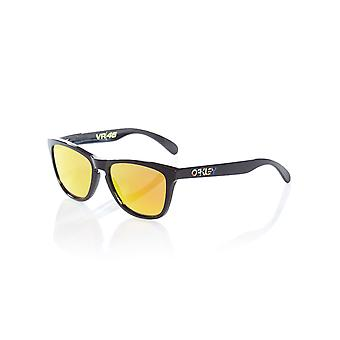 Oakley Polished Black-Prizm Ruby Frogskins - VR46 Valentino Rossi Collection Sun
