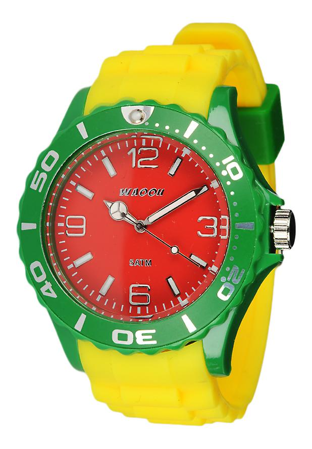 Waooh - toont Bob Marley Mc42 tricolor Silicone