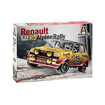 Italeri 1:24 Rally Renauls R5