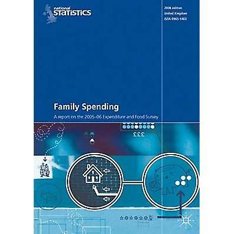 Familiens udgifter - 2005-2006 (revideret udgave) af Kontoret for nationale Sørensen