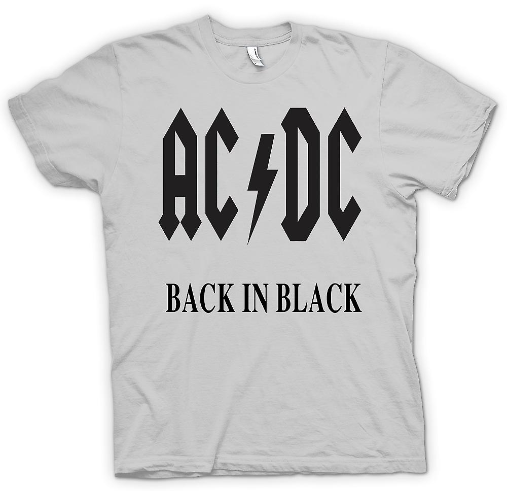 Mens T-shirt - AC/DC Back In Black