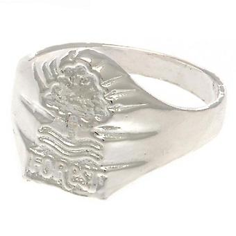 Nottingham Forest FC Silver Plated Crest Ring