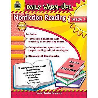 Nonfiction Reading, Grade 1 (Daily Warm-Ups)