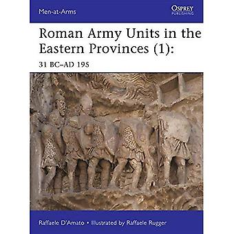 Roman Army Units in the Eastern Provinces