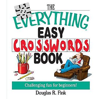 The Everything Easy Cross-Words Book: Challenging Fun for Beginners (Everything (Hobbies & Games))