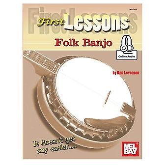 First Lessons Folk Banjo