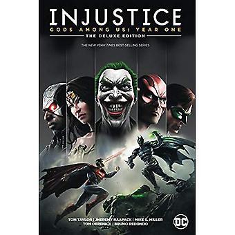 Injustiça: Deuses entre nós: um ano: A edição Deluxe: livro um