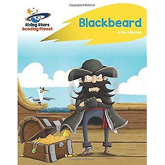 Lezing planeet - Blackbeard - geel: Rocket Phonics (Rising Stars planeet lezen)