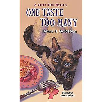 One Taste Too Many (Sarah Blair Mystery)