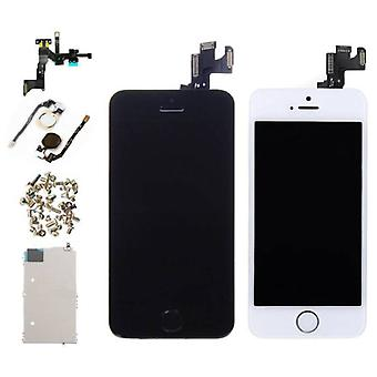 Stuff Certified ® iPhone SE Pre-assembled Screen (Touchscreen + LCD + Parts) A + Quality - Black + Tools