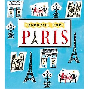 パリのパノラマがポップアップ表示されます - s の立体拡大都市のスカイライン