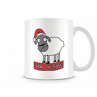 Baa Humbug Christmas Sheep Mug