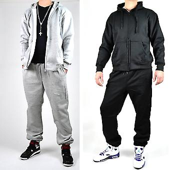 BASIC TRACKSUIT TRACKSUIT SUIT SWEAT Sportanzug ++ S-XXL