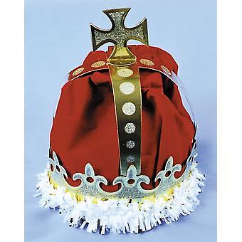 Krone Könige Papier rot für alle