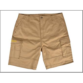 Roughneck Clothing Work Shorts Khaki Waist 36in