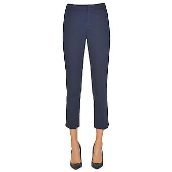 Aspesi Blue Cotton Pants