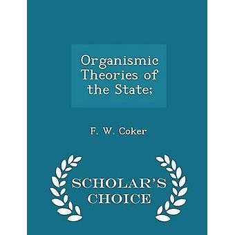 コッカー ・ f. w. によって州学者チョイス版の模倣の理論