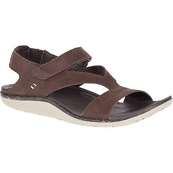 Merrell dame Trailway Backstrap læder gå sandaler