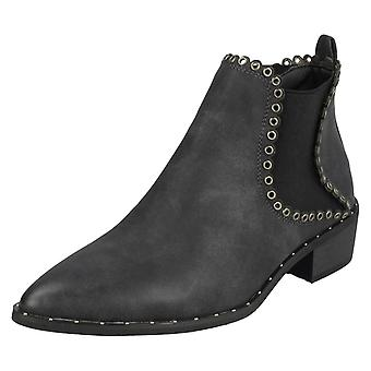 Ladies Down To Earth Ankle Boot