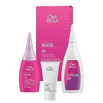 Wella Professionals Creatine Wave N Kit for Normal to resistant hair