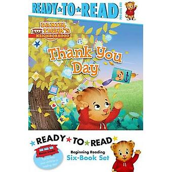 Daniel Tiger Ready-To-Read Value Pack - Thank You Day; Friends Help Ea