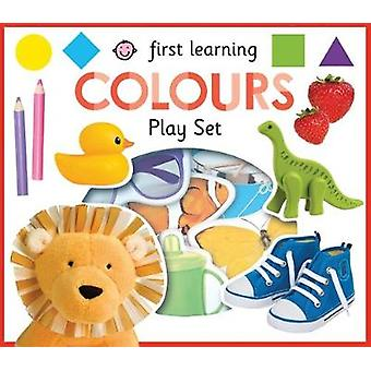 First Learning Play Set Colours by Roger Priddy - 9781783415311 Book