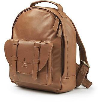 Elodie details - backpack mini - chesnut leather