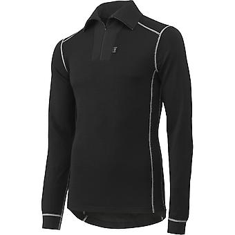 Helly Hansen Mens Roskilde Polo Zip Merino Wool Thermal Baselayer