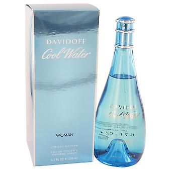 COOL WATER by Davidoff Eau De Toilette Spray 6.7 oz / 200 ml (Women)