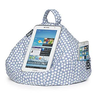 Ipad, tablet & ereader bean bag stand by ibeani - spotty