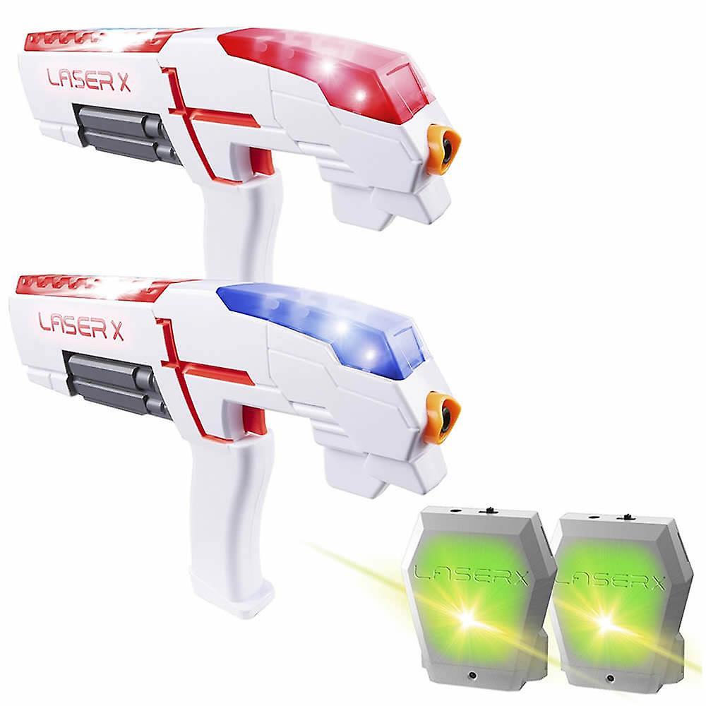 Ensemble Laser X avec 2 pistolets laser et 2 gilets