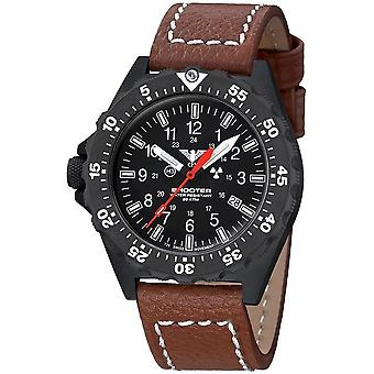 KHS Shooter MKII with leather strap buffalo leather brown - KHS. SH2F. LB5