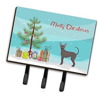 Abyssinian or African Hairless Dog Christmas Tree Leash or Key Holder