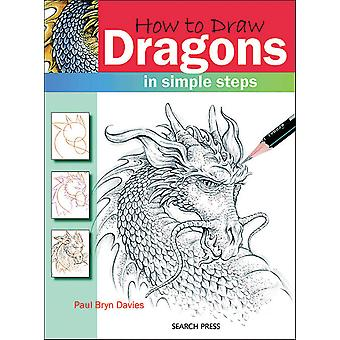 Search Press Books How To Draw Dragons Sp 83129