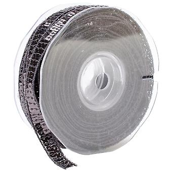 Square Sequin Trim 10Mm X 15.95 Yards Grey 9801 10 38
