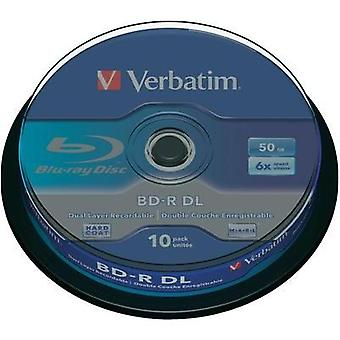 Blank Blu-ray BD-R DL 50 GB Verbatim 43746 10 pc(s) Spindle