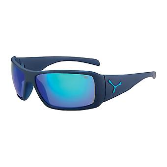 Cebe Sportactive Utopy Sunglasses(Matt Blue Frame 1500 Grey FM Blue Lens)