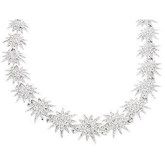 Kenneth Jay Lane Crystal Starburst Necklace