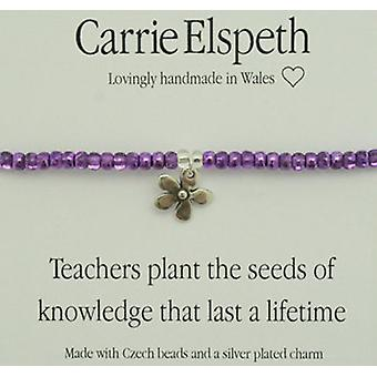Insegnanti di Carrie Elspeth piantare semi conoscenza Bracciale
